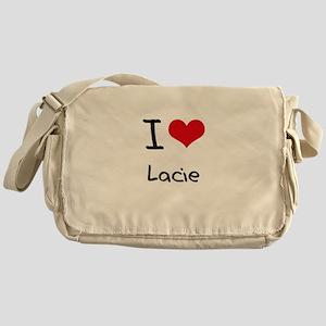 I Love Lacie Messenger Bag
