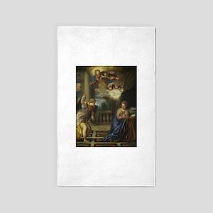 Veronese - The Annunciation 3'x5' Area Rug