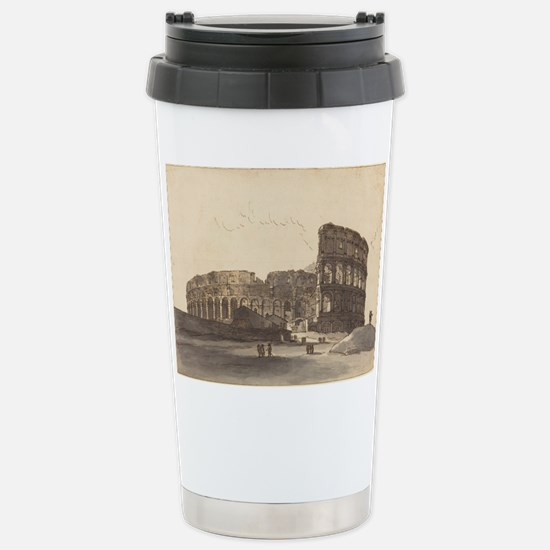 Victor Jean Nicolle - The Colosseum Travel Mug