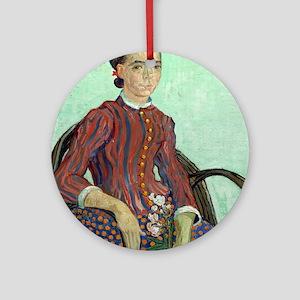 Vincent Van Gogh - La Mousme Ornament (Round)