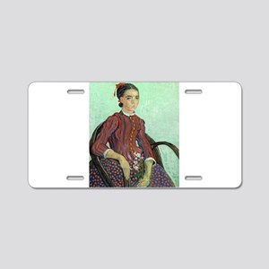 Vincent Van Gogh - La Mousme Aluminum License Plat