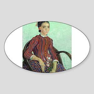 Vincent Van Gogh - La Mousme Sticker