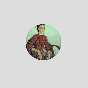 Vincent Van Gogh - La Mousme Mini Button