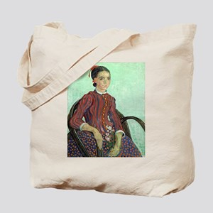 Vincent Van Gogh - La Mousme Tote Bag
