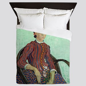 Vincent Van Gogh - La Mousme Queen Duvet