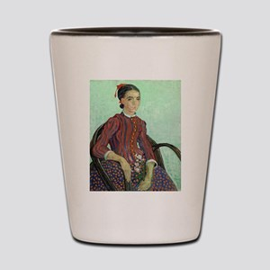 Vincent Van Gogh - La Mousme Shot Glass