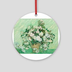 Vincent Van Gogh - Roses Ornament (Round)