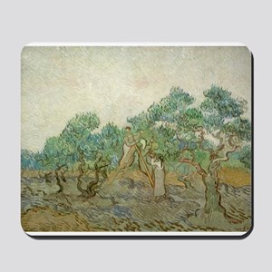 Vincent Van Gogh - The Olive Orchard Mousepad