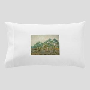 Vincent Van Gogh - The Olive Orchard Pillow Case