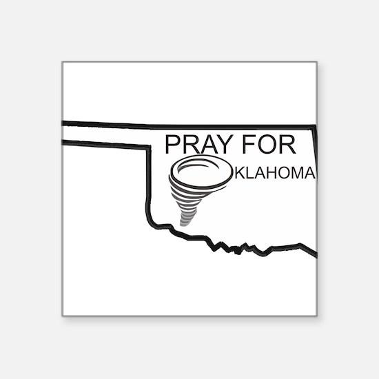 Pray For Oklahoma Sticker