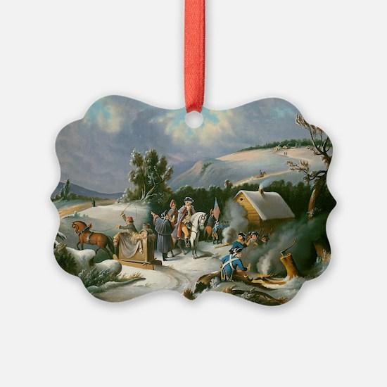 Washington at Valley Forge Ornament
