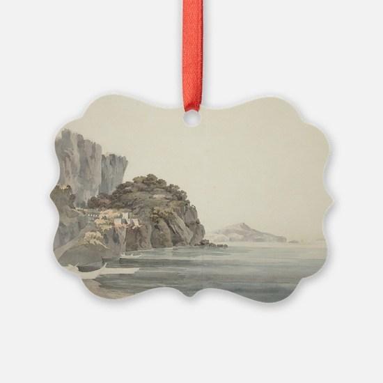 William Pars - An Italian Coast Scene Ornament