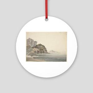 William Pars - An Italian Coast Scene Ornament (Ro