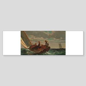 Winslow Homer - Breezing Up (A Fair Wind) Bumper S