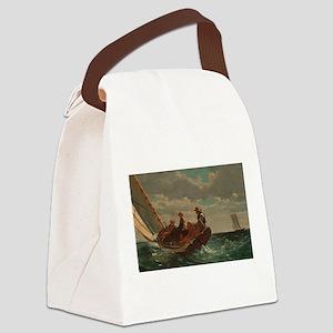 Winslow Homer - Breezing Up (A Fair Wind) Canvas L