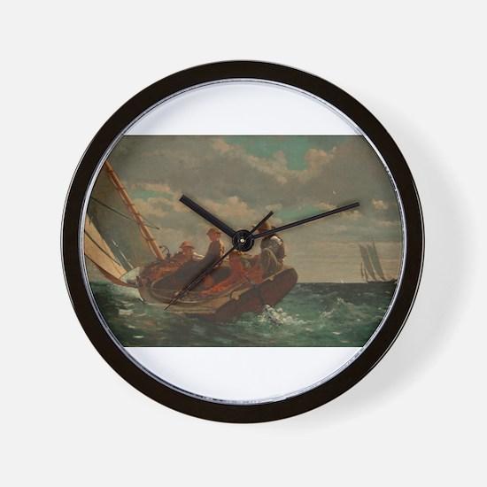Winslow Homer - Breezing Up (A Fair Wind) Wall Clo