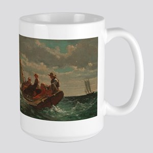 Winslow Homer - Breezing Up (A Fair Wind) Mug