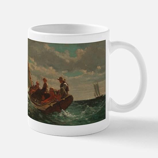 Winslow Homer - Breezing Up (A Fair Wind) Mug