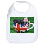 Tea Cup Piggies Bib