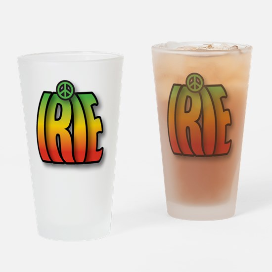 IRIE PEACE Drinking Glass