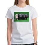 4 micro pigs in a row T-Shirt