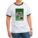 Baby micro pig with Peach T-Shirt