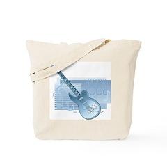 Rock Guitar Tote Bag