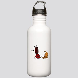 Dog Afraid of Vacuum Monster Water Bottle
