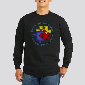April is Autism Awarness Month Long Sleeve T-Shirt