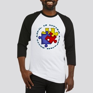 April is Autism Awarness Month Baseball Jersey