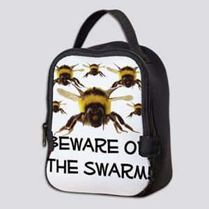 Beware Of The Swarm Neoprene Lunch Bag