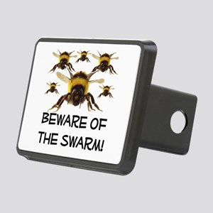 Beware Of The Swarm Rectangular Hitch Cover