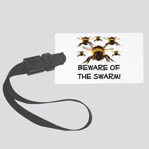 Beware Of The Swarm Large Luggage Tag