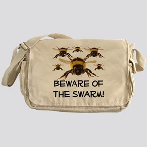 Beware Of The Swarm Messenger Bag