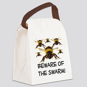 Beware Of The Swarm Canvas Lunch Bag