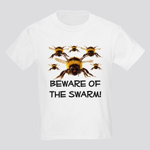 Beware Of The Swarm Kids Light T-Shirt