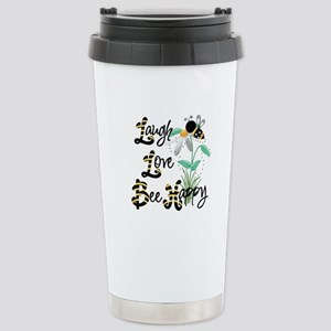 Bee Happy Travel Mug