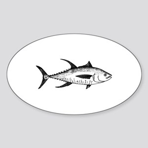 Yellowfin Tuna Logo (line art) Sticker