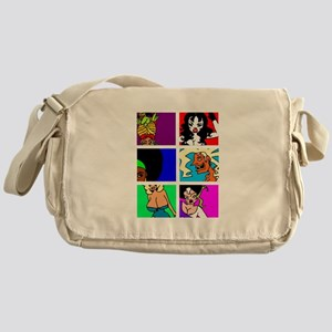 Cult Cinema Queens Messenger Bag
