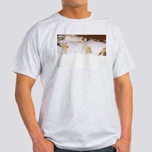 """Three Important Wolves Of The Pack"" T-Shirt"