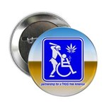 """Thug Free America 2.25"""" Button (100 pack)"""