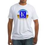 Thug Free America Fitted T-Shirt