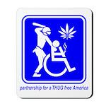 Thug Free America Mousepad