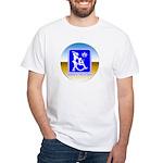 Thug Free America White T-Shirt