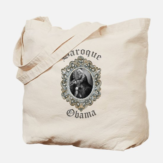 Baroque Obama Tote Bag