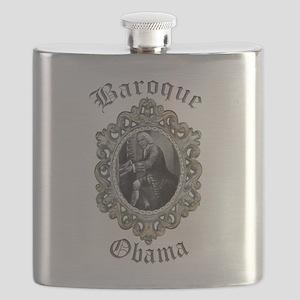 Baroque Obama Flask