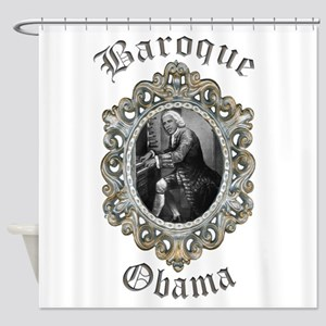Baroque Obama Shower Curtain