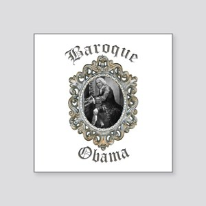 Baroque Obama Sticker