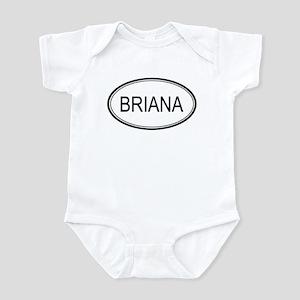 Briana Oval Design Infant Bodysuit