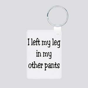 Left my leg... Keychains
